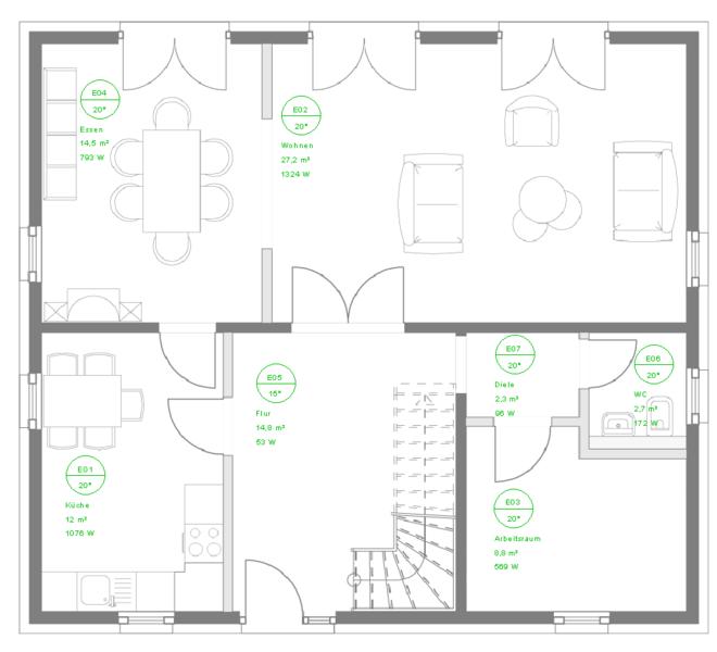 CAD-Basis & Heizlast EN 12831
